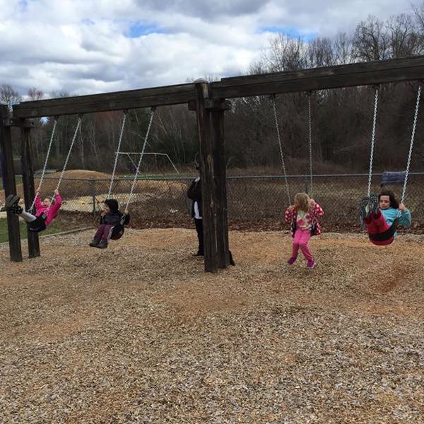 Friendship Park Swings