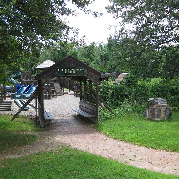 Friendship Park at Roberts Field